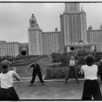 SOVIET UNION. Moscow. 1954. Moscow State University main building.